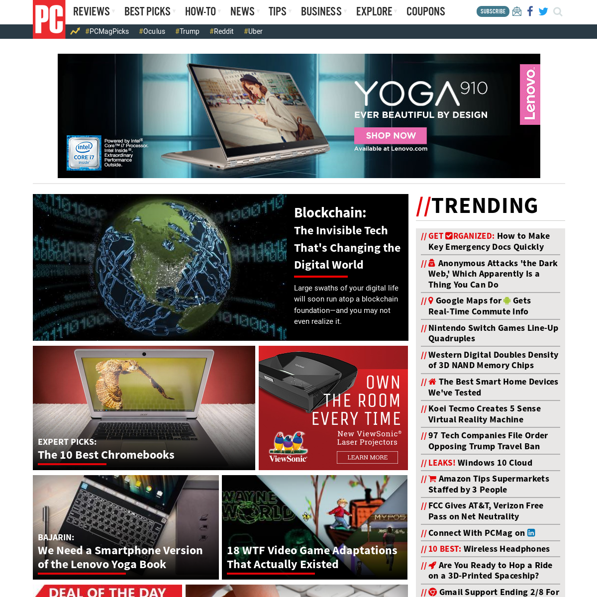 Screenshot archive of www pcmag com | Thumlapse by Thum io